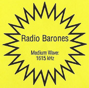 Radio Barones sticker