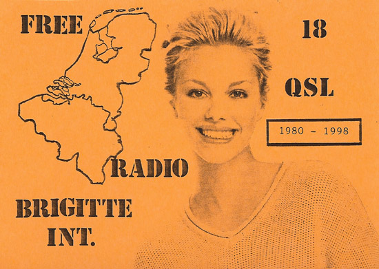 Radio Brigitte International QSL