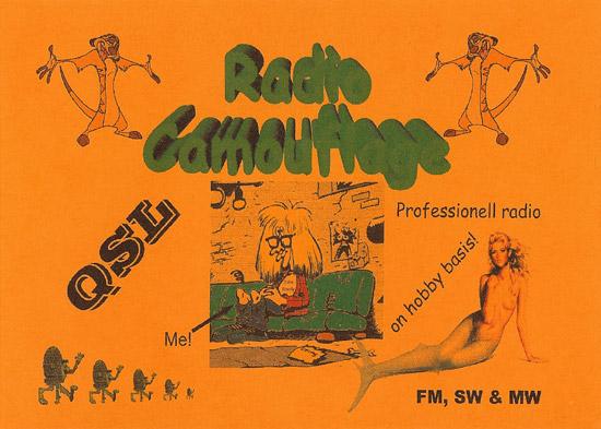Radio Camouflage QSL