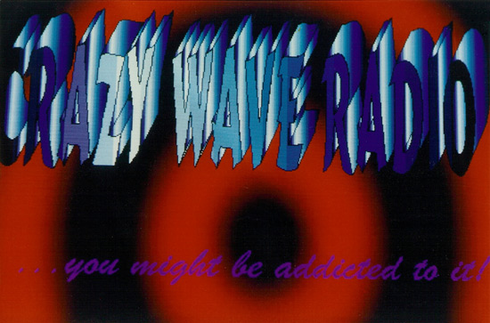 Crazy Wave Radio QSL