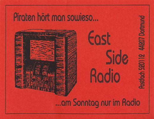 East Side Radio QSL