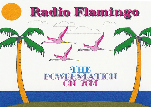 Radio Flamingo QSL