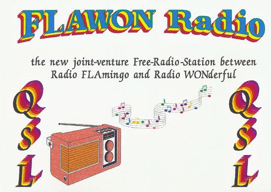 Flawon Radio QSL