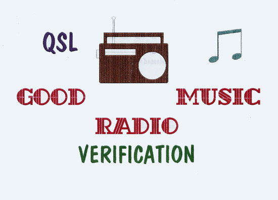 Good Music Radio QSL
