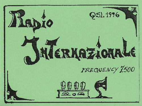 Radio Internazionale QSL