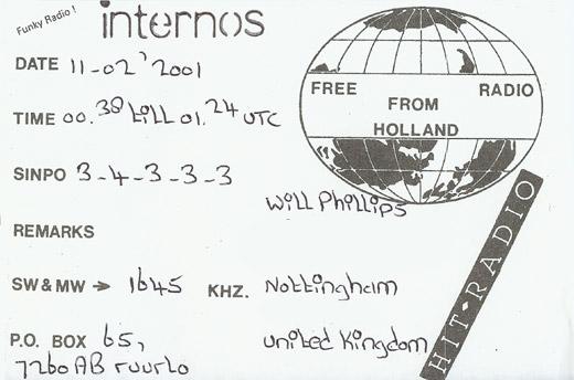 Radio Internos QSL