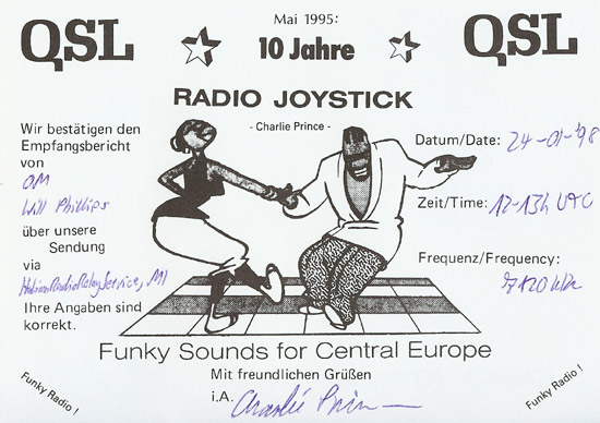 Radio Joystick QSL