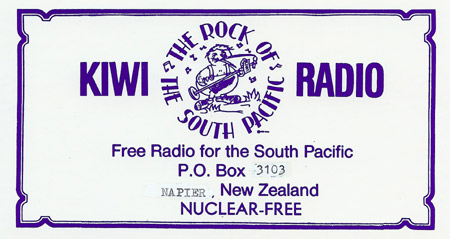KIWI Radio sticker