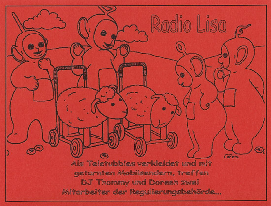 Radio Lisa QSL