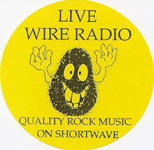 Livewire Radio sticker