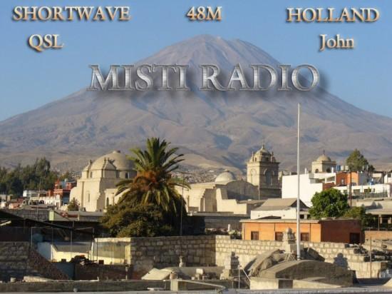 Misti Radio QSL