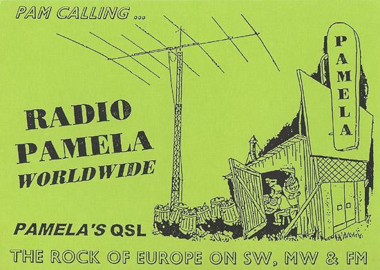 Radio Pamela QSL
