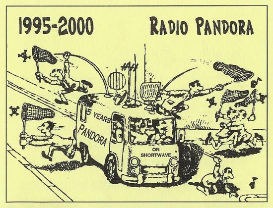 Radio Pandora QSL