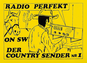 Radio Perfekt sticker