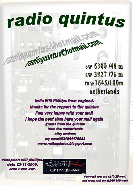 Radio Quintus QSL