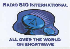Radio 510 International sticker