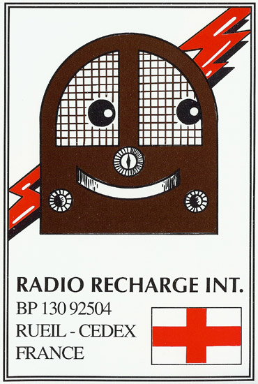Radio Recharge International QSL