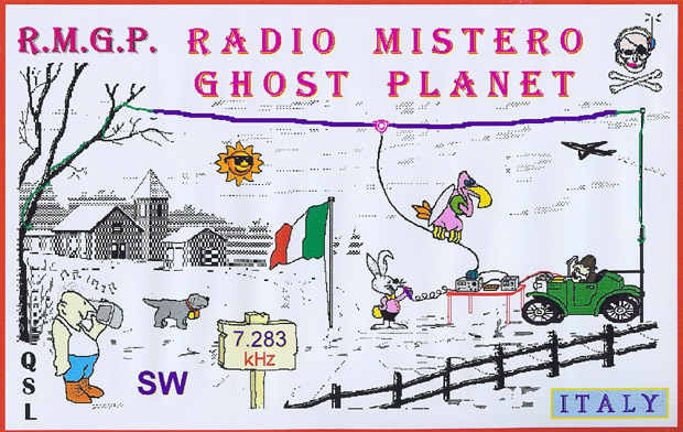 Radio Mistero Ghost Planet QSL