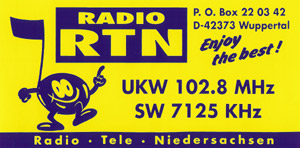 Radio RTN sticker