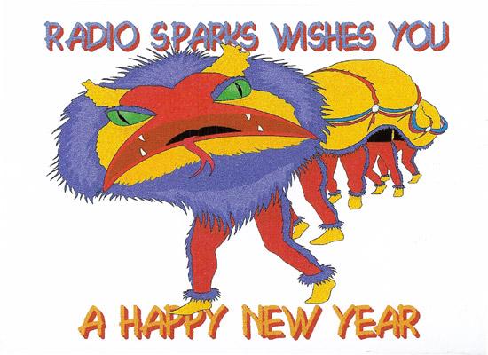 Radio Sparks QSL