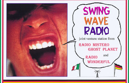 Swing Wave Radio QSL