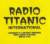 Radio Titanic International sticker