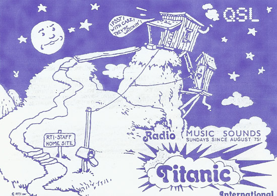 Radio Titanic International QSL