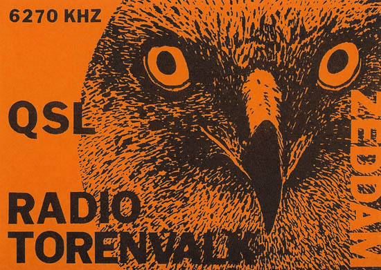 Radio Torenvalk QSL