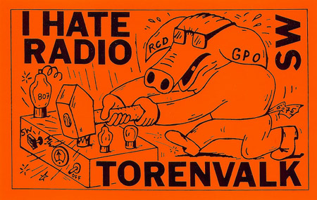 Radio Torenvalk sticker