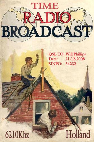 Time Radio QSL