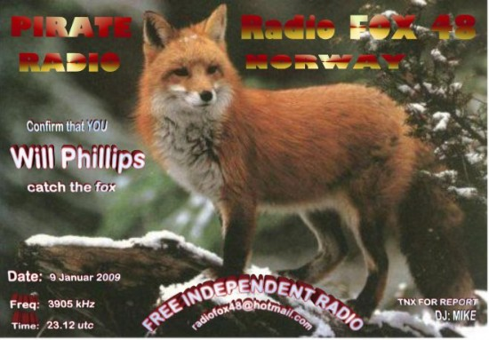 Fox 48 QSL