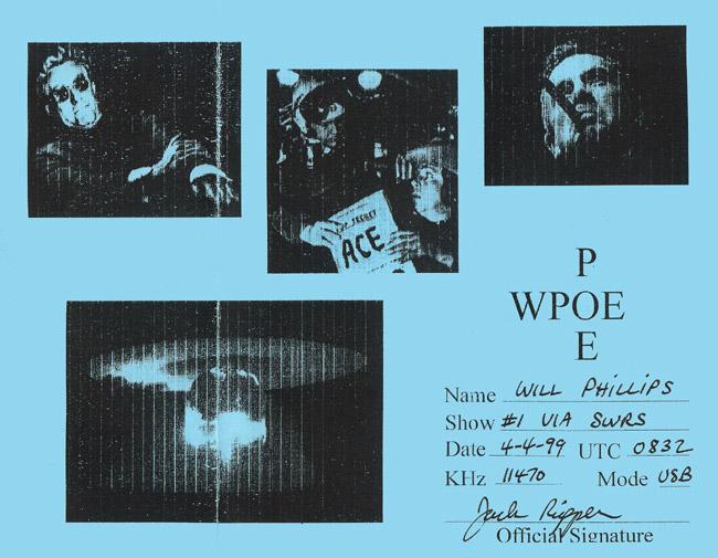 WPOE QSL