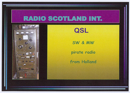 Radio Scotland International QSL