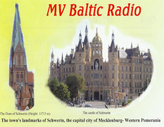 MV Baltic Radio QSL
